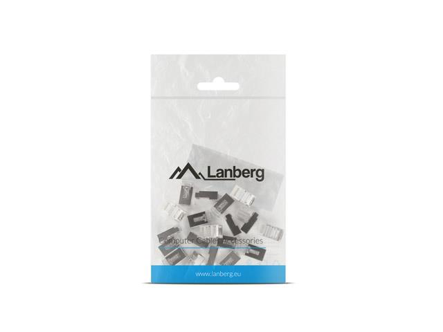 Lanberg RJ-45 Plug 8P8C cat.6 FTP (20pcs) with a cable and wire guide