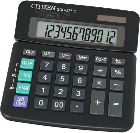 KALKULATOR BIUROWY  CITIZEN SDC 577III kalkulators