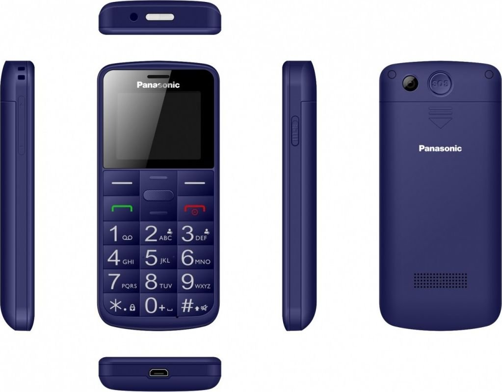 Panasonic Mobile phone for senior KX-TU110 blue Mobilais Telefons