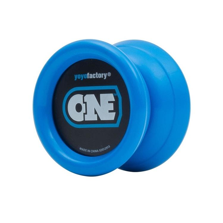 Jaunums! YoYoFactory YO-YO ONE rotaļlieta iesācējiem, zils YO 004