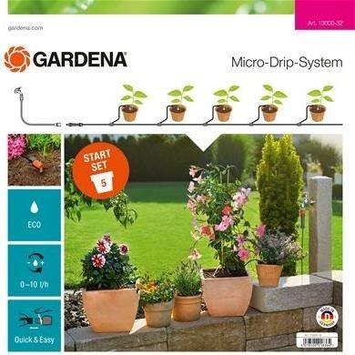 GARDENA Micro-Drip-System Start-Set Plant Pots S Elektroinstruments