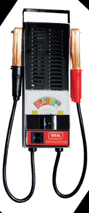 Ideal Tester akumulatorow 6/12V lbt 100 BW LBT 100 auto akumulatoru lādētājs