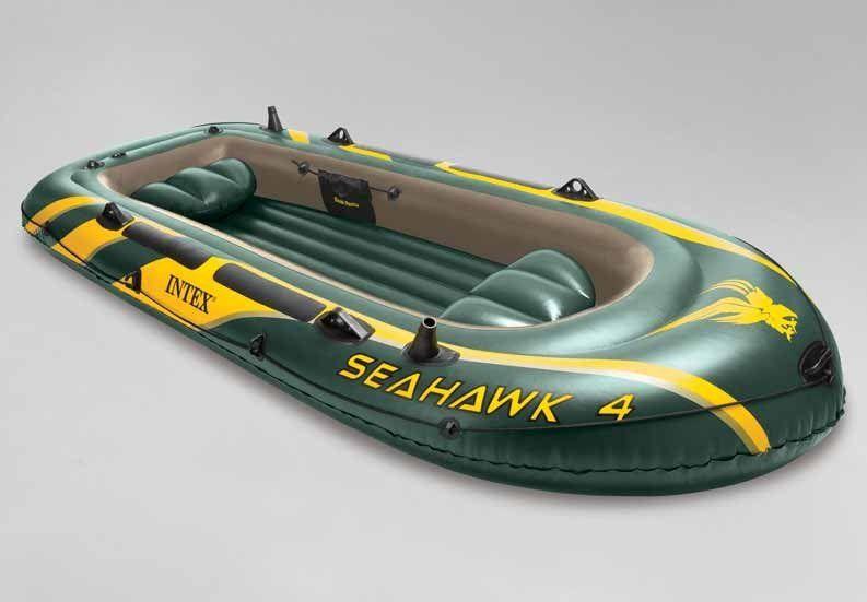 Intex Ponton Seahawk 4 set 350 x 144 cm 6005107
