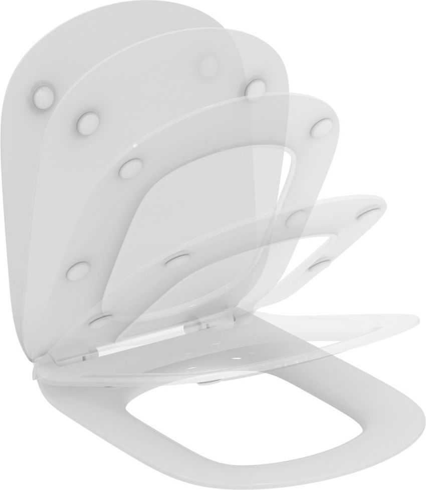 Ideal Standard Toilet seat Tesi slow-closing white (T352701)