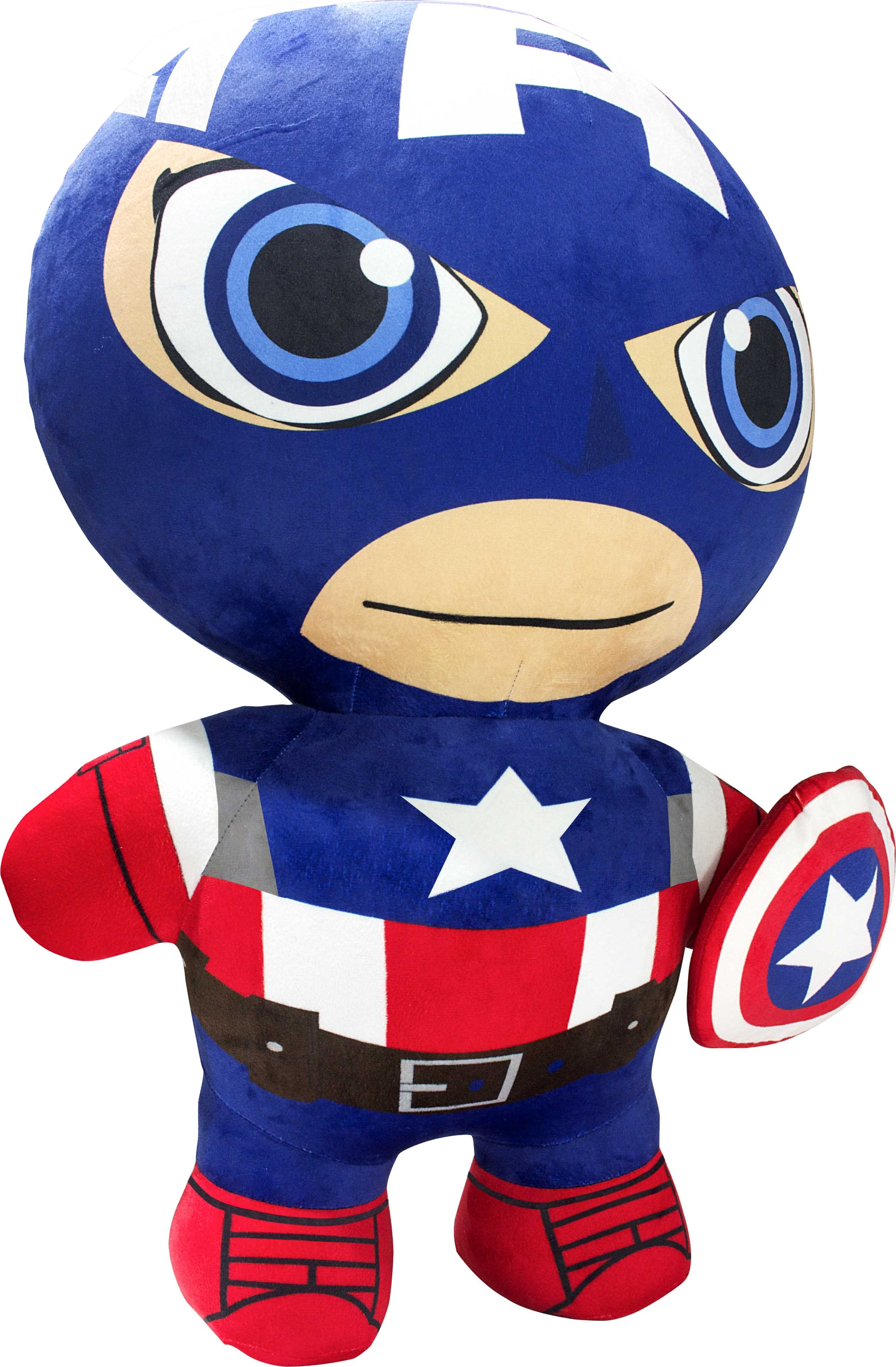 Inflate-a-mals Marvel Avengers soft toy Captain America (76 cm)
