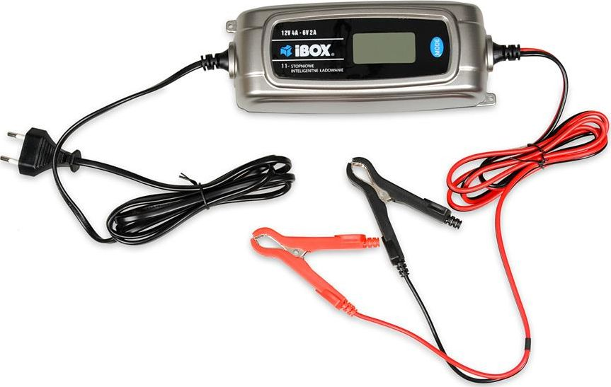 iBOX IBOX PROSTOWNIK DO AKUMULATORA 6/12V 4A I-504DVL auto akumulatoru lādētājs