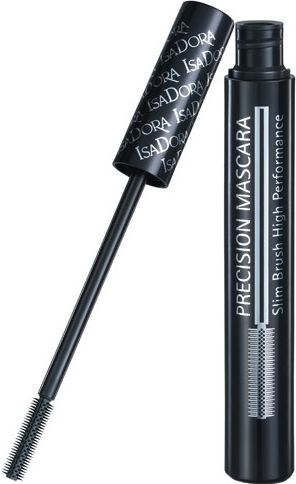 IsaDora Precision Mascara Slim Brush High Performance Mascara 10 Black 7ml skropstu tuša