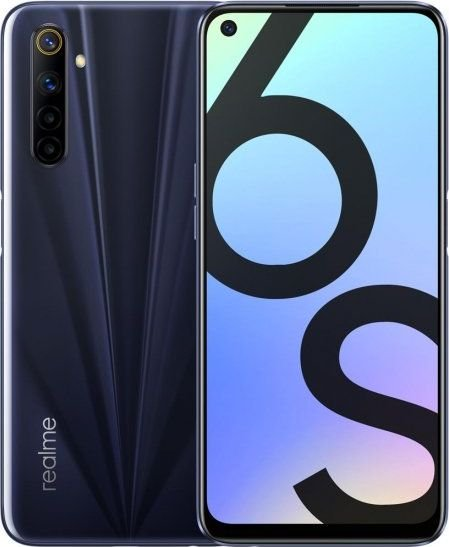 Smartfon Oppo Realme 6s 64 GB Dual SIM Czarny  (RMX2002EB) RMX2002EB Mobilais Telefons