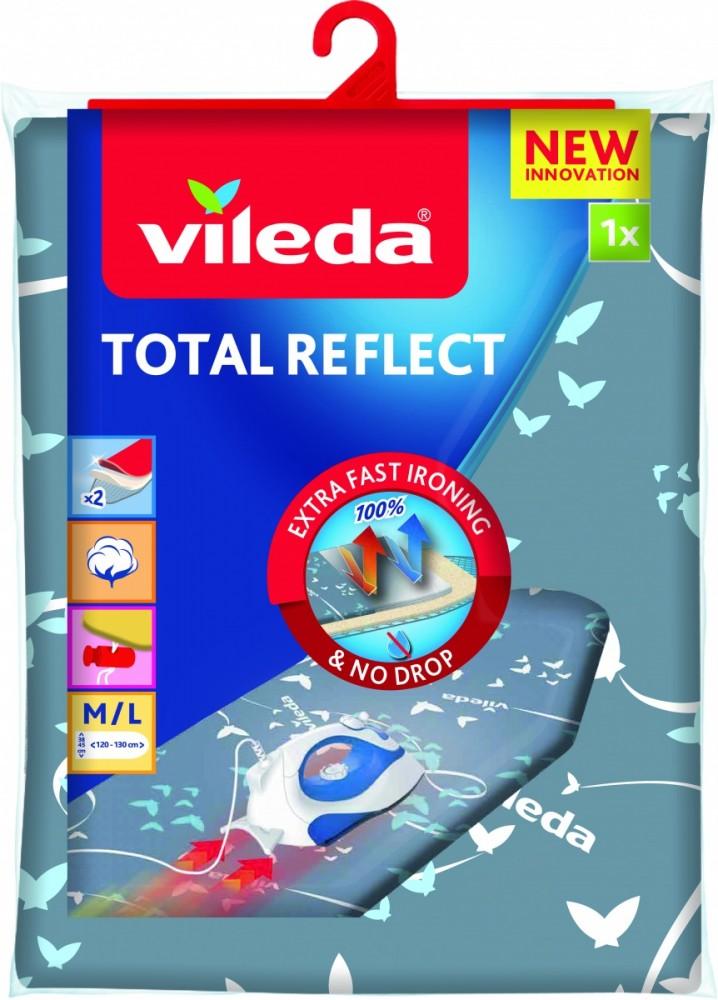Vileda Total Reflect Ironing board top cover Blue,Grey,White gludināmais dēlis, veļas žāvētājs