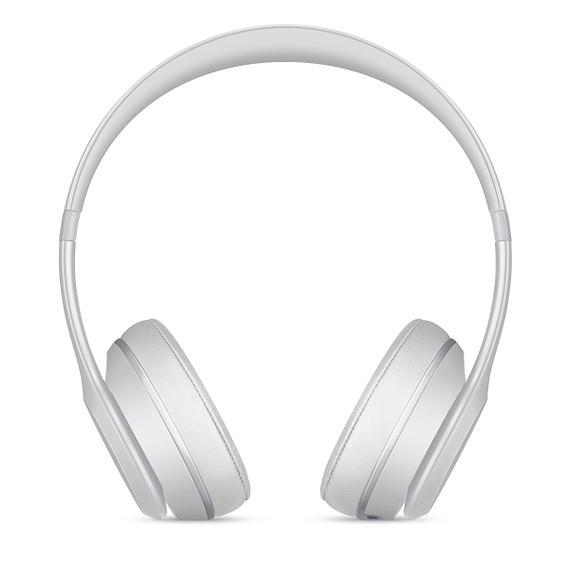 Beats Solo3 Wireless On-Ear Headphones Headband/On-Ear, Matt Silver austiņas