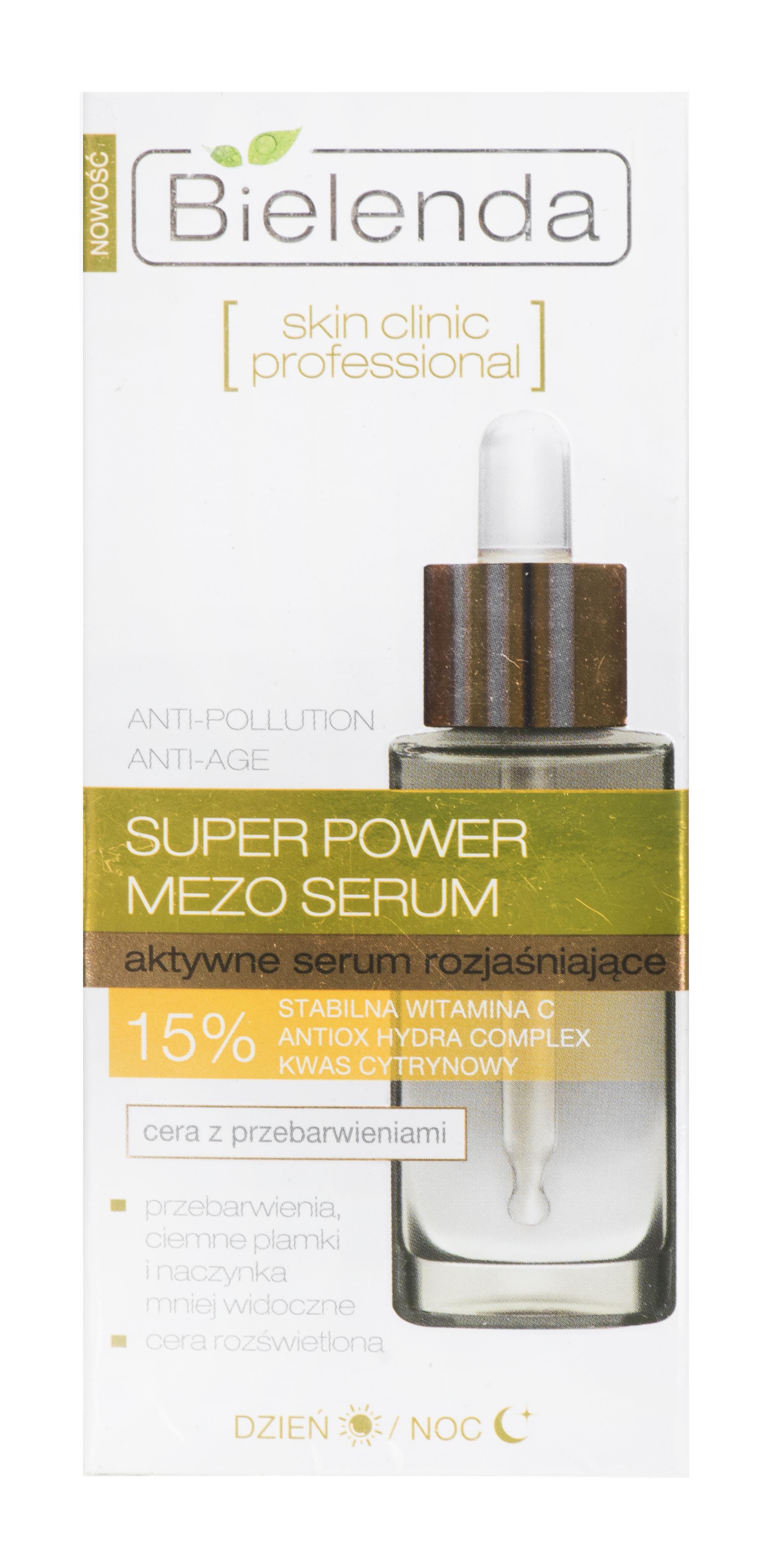 Bielenda Skin Clinic Professional Brightening day and night serum 30ml
