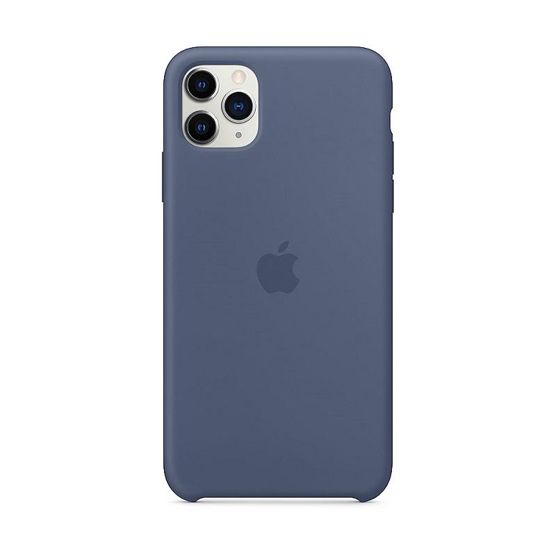 iPhone 11 Pro Max Silicone Case - Alaskan Blue maciņš, apvalks mobilajam telefonam