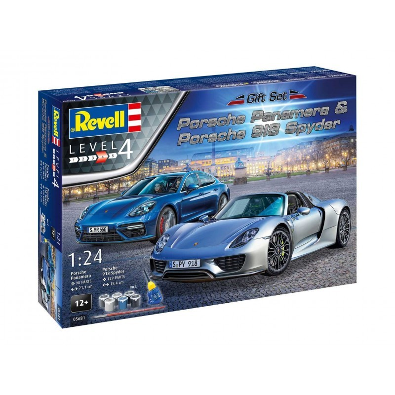 REVELL Gift Set Porsche Set Rotaļu auto un modeļi