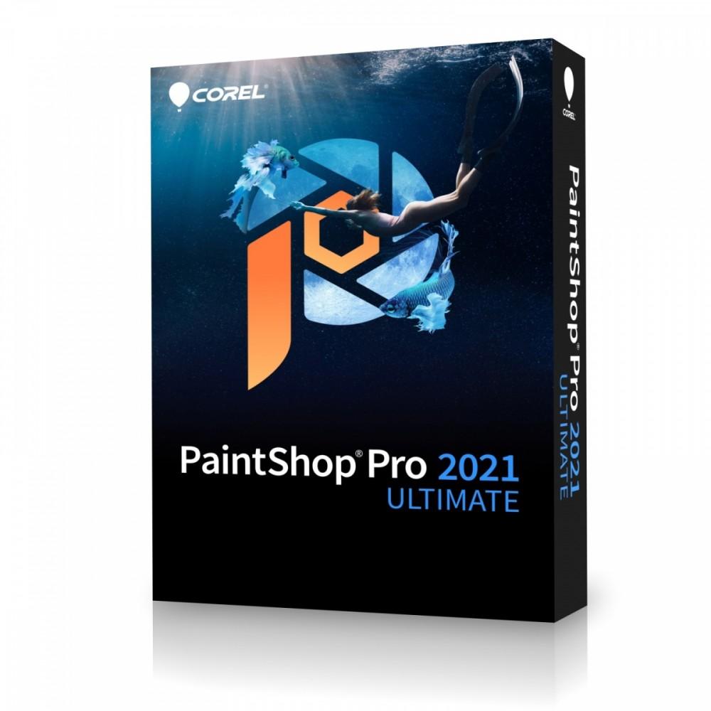 PaintShop Pro 2021 Ulti mate ML EU