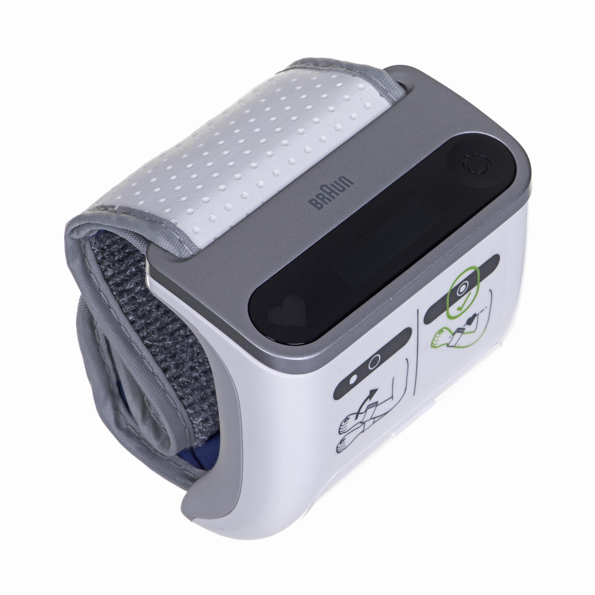 Braun Blood Pressure Monitor BPW4500 iCheck 7 Memory capacity 100 readings, Display OLED 4022167145000
