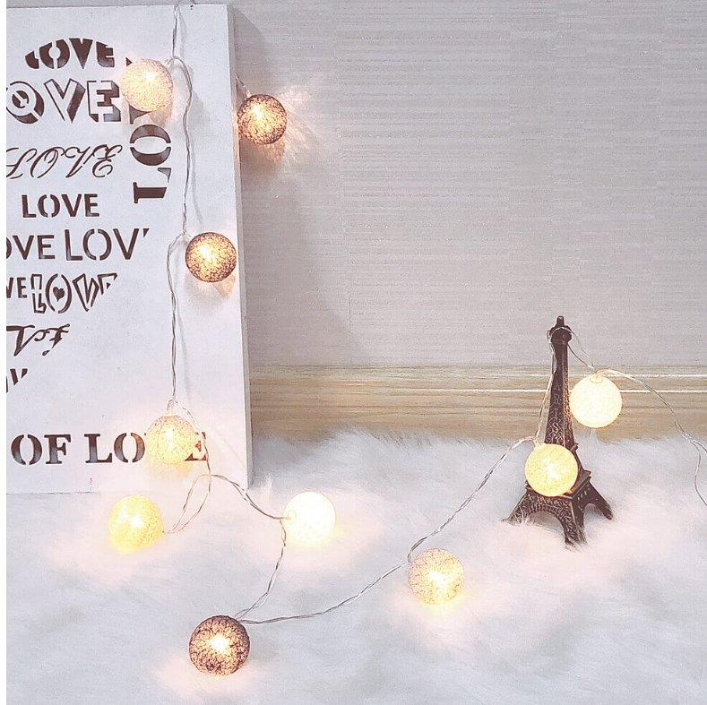 Platinet Kokvilnas Bumbiņas 10 LED Gaismas virtenis