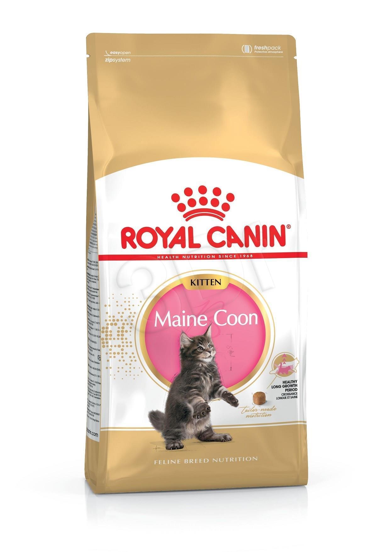 Royal Canin Kitten Food Maine Coon 36 Dry Mix 10kg kaķu barība