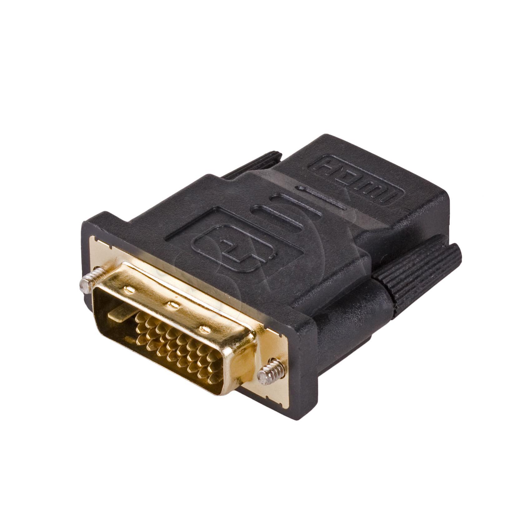 Adapter cyfrowy video Akyga AK-AD-41 DVI 24+1 - HDMI M-F adapteris