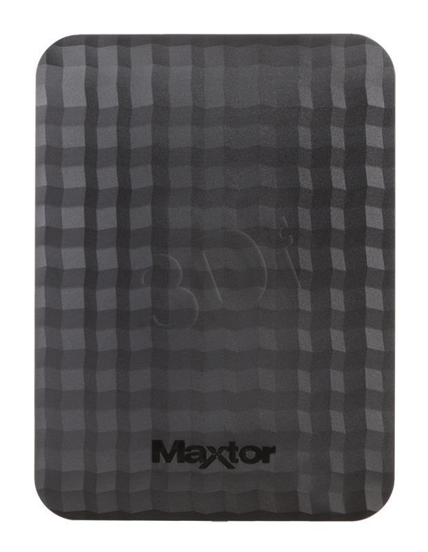 Maxtor Seagate M3 Portable 2.5'' 2TB USB3, Black Ārējais cietais disks