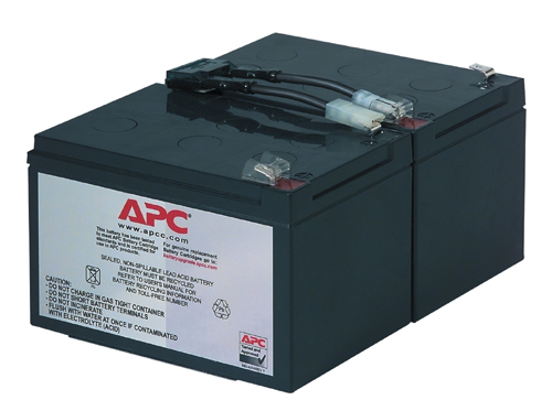 APC Replacement Battery Cartridge RBC6 UPS aksesuāri