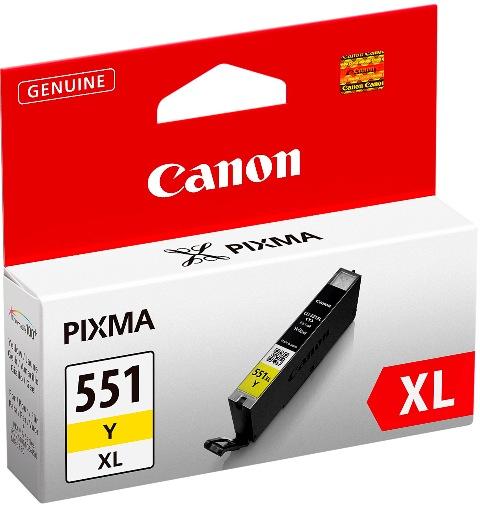 Canon CLI-551XL Yellow kārtridžs