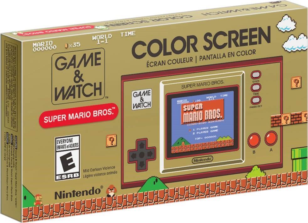 Nintendo Game & Watch: Super Mario Bros spēļu konsole