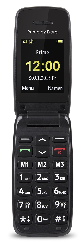Primo 401 by Doro black Mobilais Telefons