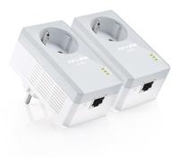 TP-Link TL-PA4010P AV500 Powerline Adapter AC PassThrough StarterKit (Twin Pack) POWERLINE adapteri