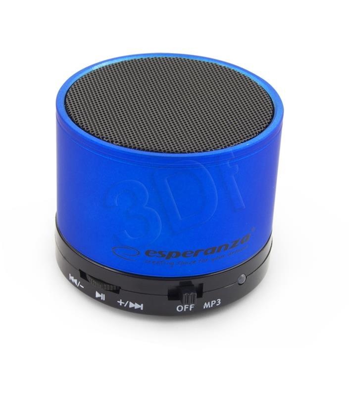 Esperanza bluetooth speaker RITMO  Blue EP115B pārnēsājamais skaļrunis