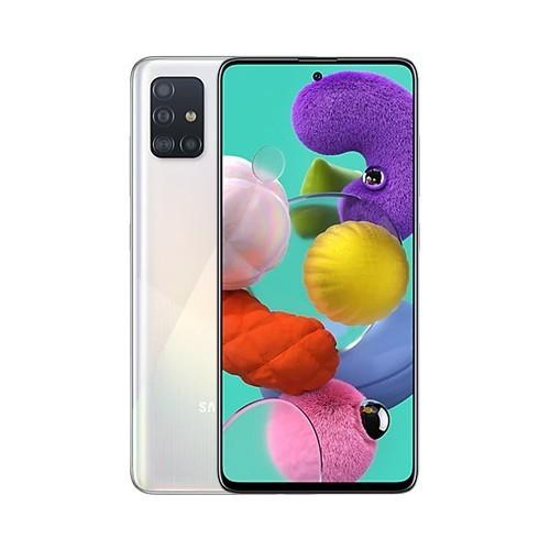 Samsung A515F/DSN Galaxy A51 Dual LTE 128GB Prism Crush White A515F/DSN Prism Crush White Mobilais Telefons