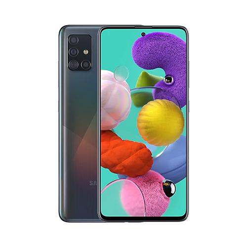 Samsung A515F/DSN Galaxy A51 Dual LTE 128GB Prism Crush Black A515F/DSN Prism Crush Black Mobilais Telefons