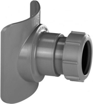 McAlpine Universal mechanical saddle for sewer risers 110 / 50mm (BOSSCONN110-50-GR)