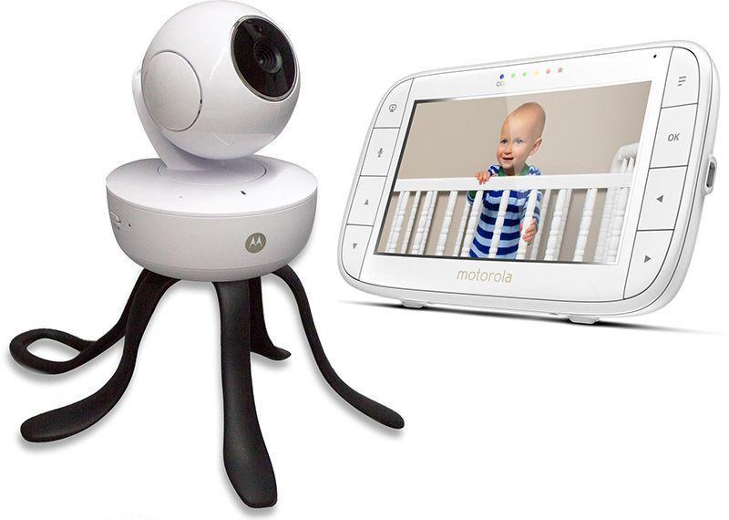 Motorola MBP855connect White,  Wi-Fi Video Baby Monitor, Wireless Mazuļu uzraudzība
