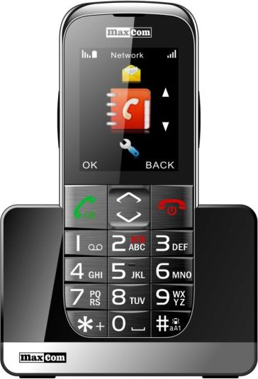 Telefon komorkowy Maxcom MM 720 BB MAXCOMM720BB Mobilais Telefons