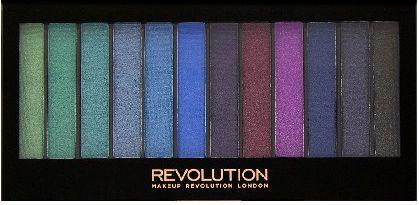 Makeup Revolution Redemption Palette 12 Mermaids vs Unicorns eye shadow set 14g (12 colors) ēnas