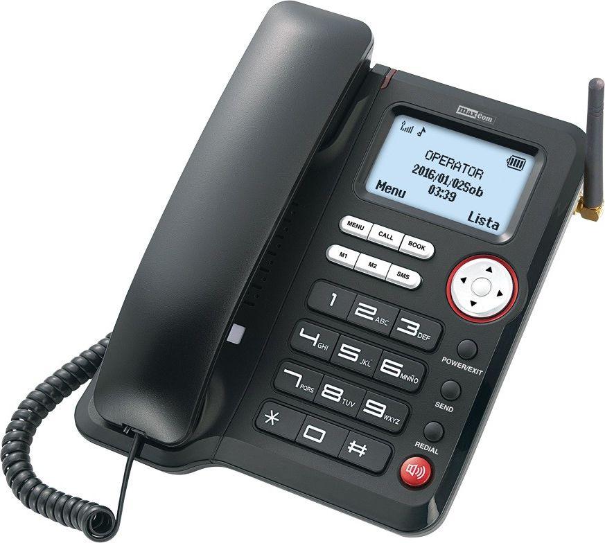 MAXCOM MM29D            GSM DESKTOP 3G telefons