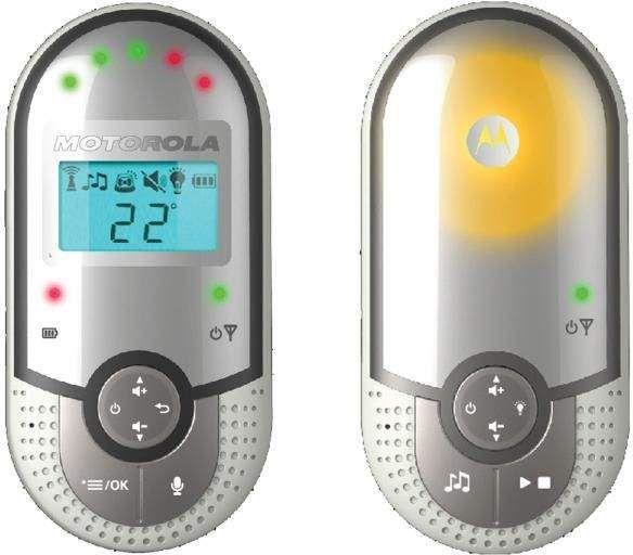 Motorola MBP16 Mazuļu uzraudzība