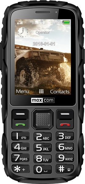 Telefon komorkowy Maxcom Strong MM920 Black MM 920 Mobilais Telefons