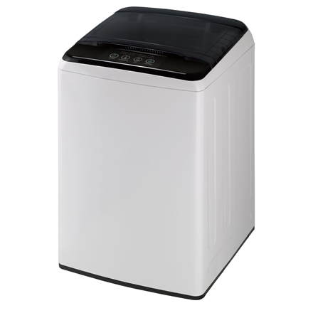 DAEWOO Washing machine WM-1710ELW Top loading, Washing capacity 6 kg, 700 RPM, A+, Depth 53.5 cm, Width 52.5 cm, White/ black, Semi-automati Veļas mašīna