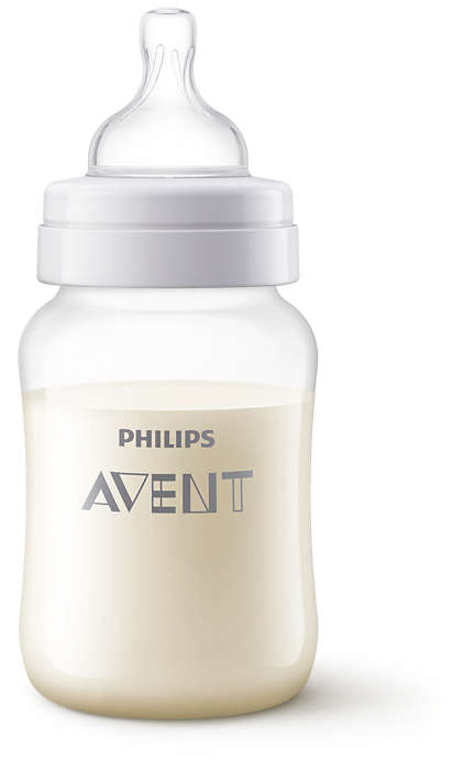 Philips Avent Pretkoliku pudelīte 260 ml, 1M+ Giraffe SCF821/12 bērnu barošanas pudelīte
