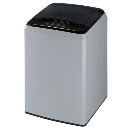 DAEWOO Washing machine WM-1710ELG Top loading, Washing capacity 6 kg, 700 RPM, A+, Depth 53.5 cm, Width 52.5 cm, Silver/ black, Semi-automat Veļas mašīna