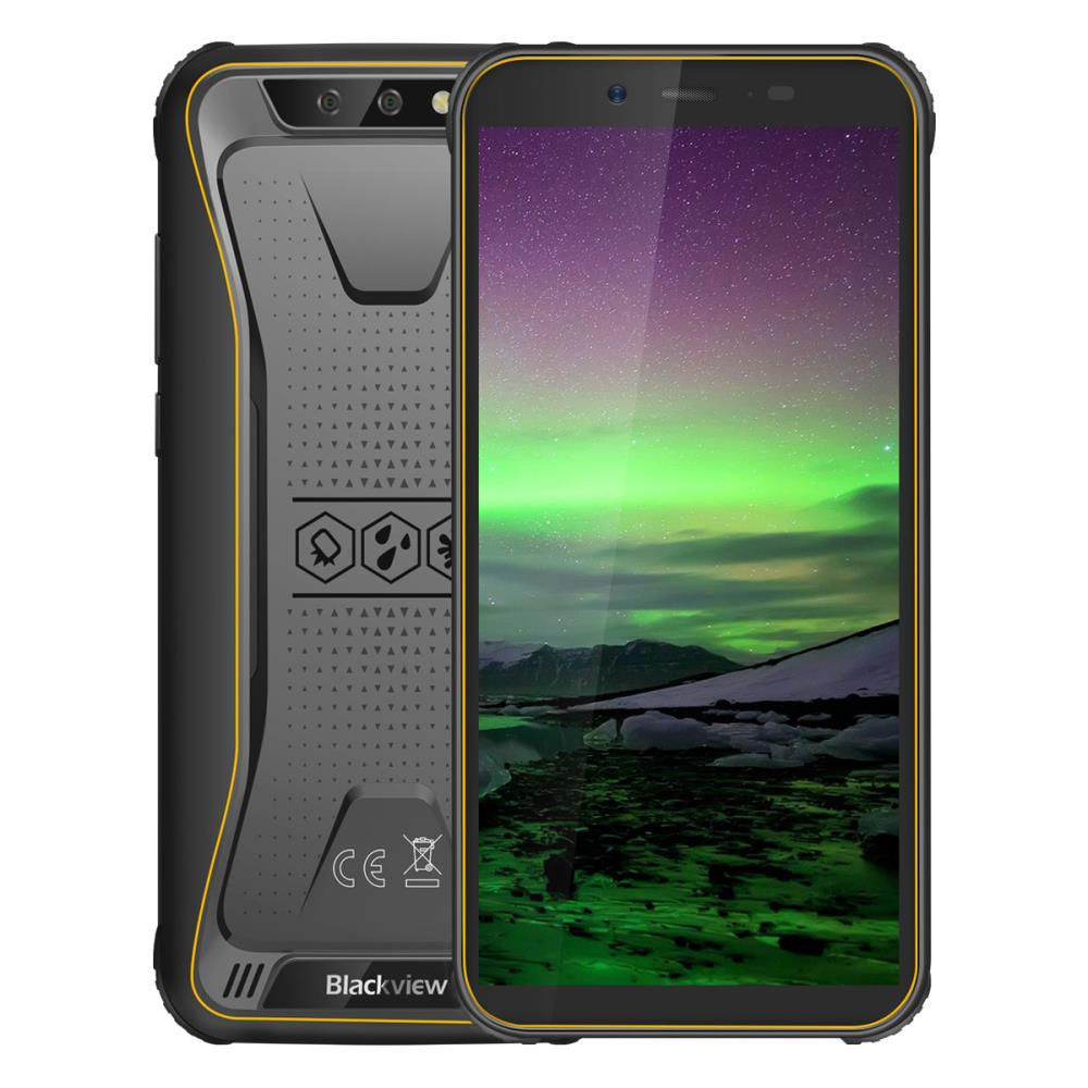 Blackview BV5500 2GB/16GB Yellow Mobilais Telefons