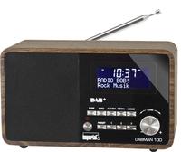 Imperial DABMAN 100 holzoptik radio, radiopulksteņi