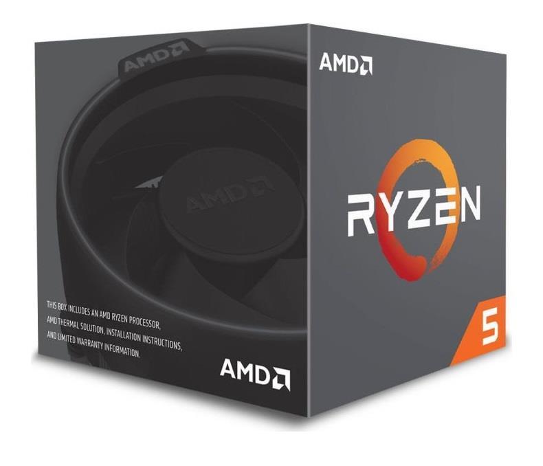 AMD Ryzen 5 2600X 3,6 GHz (Pinnacle Ridge) Socket AM4 - boxed CPU, procesors