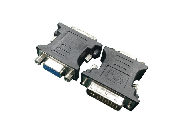 Gembird Adapter DVI-A 24-pin male to VGA 15-pin HD (3 rows) female black