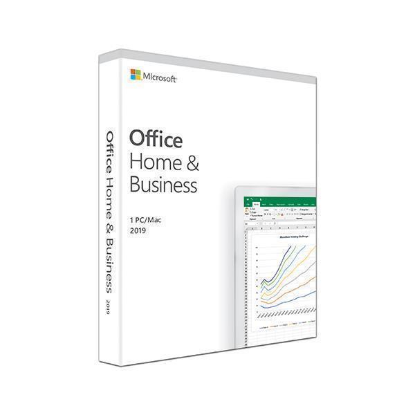 Microsoft Office Home and Business 2019 - Box-Pack - 1 PC/Mac Medialess 889842468120
