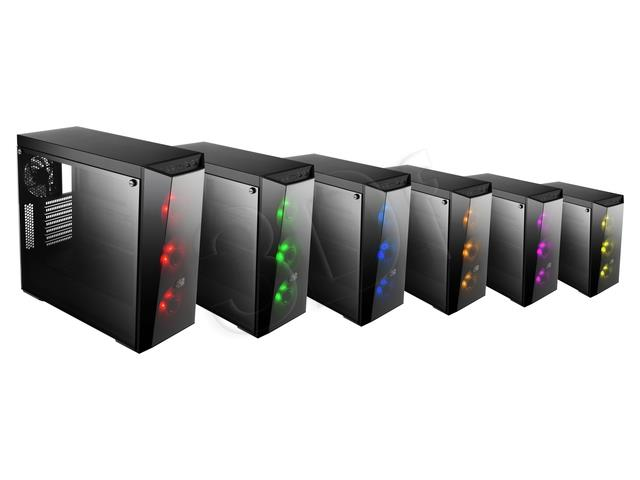 PC Case MasterBox Lite 5 RGB + controller Datora korpuss