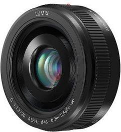 Panasonic LUMIX G 20mm f/1.7 II lens foto objektīvs