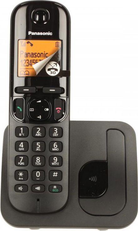 Panasonic KX-TGC210     Dect Black telefons