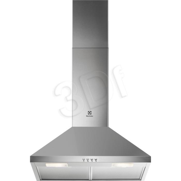 Electrolux LFC316X (420 m3/h; 598mm; silver color) Tvaika nosūcējs
